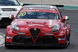 Giacomo Altoè ha provato l'Alfa Romeo a Cremona