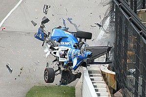 بالصور: الحادث المروّع الذي تعرّض له سكوت ديكسون في سباق إندي 500
