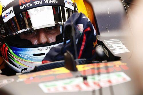 """Ricciardo """"pris par surprise"""" dans son crash en Q3"""