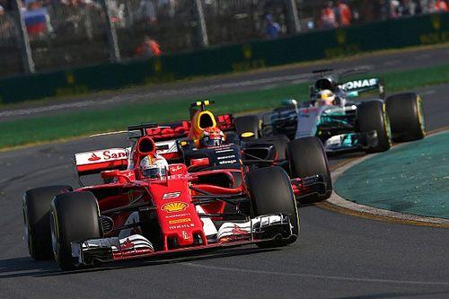 Fotogallery: le foto più belle del GP d'Australia 2017 di F.1