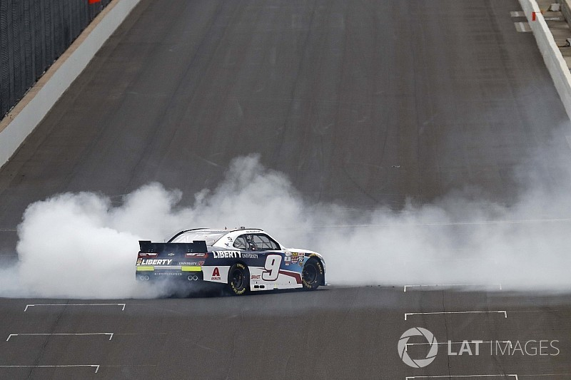 "William Byron claims ""humbling"" NASCAR Xfinity win at Indianapolis"