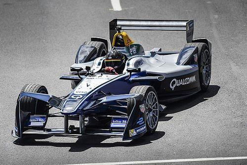 Patrick Carpentier drives first laps around Montréal ePrix circuit
