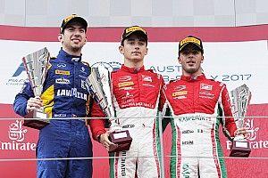 Leclerc logra una intensa cuarta victoria en la F2 en Austria