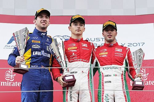Red Bull Ring F2: Leclerc leads charging Latifi in Race 1