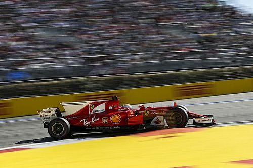 Взлеты и падения на «Сочи Автодроме»: Ferrari