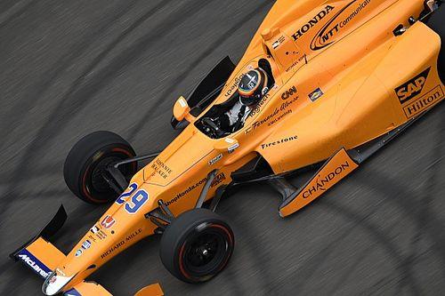 Alonso lidera primeira sessão de treinos em Indianápolis