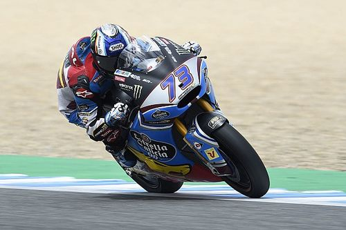 Moto2 Spanyol: Alex Marquez rebut pole perdana