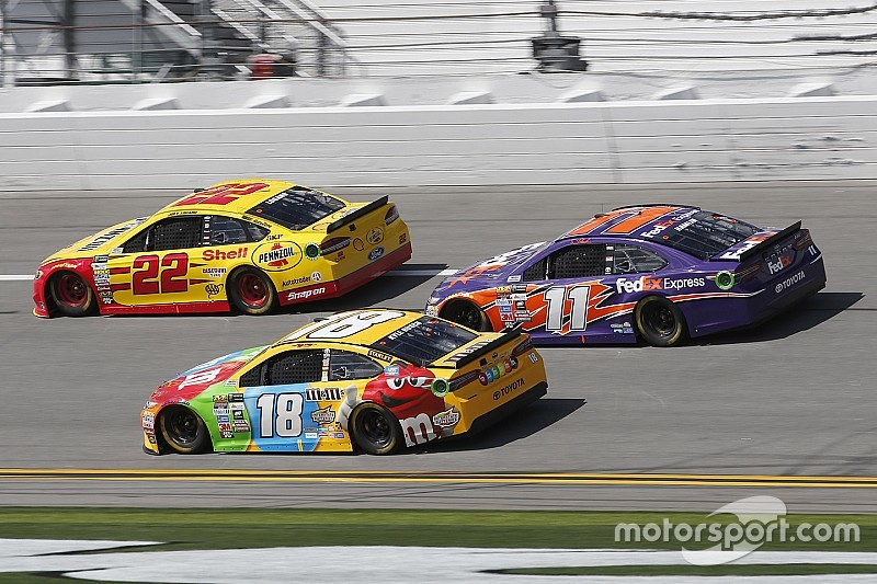 """Busch: Penske's """"two-car speed is greater than JGR's four-car speed"""""""