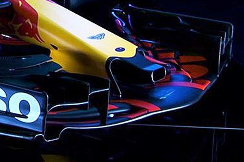 Análisis técnico: el curioso agujero en la nariz del Red Bull