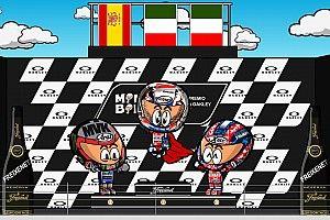 Vídeo: el GP de Italia de MotoGP 2017 según 'MiniBikers'