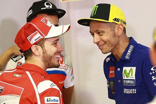 """Rossi: """"Dovizioso ha demostrado que los jóvenes no deben tener prisa"""""""