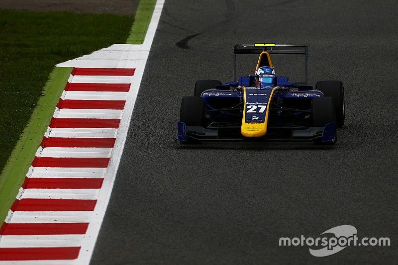 Barcelona GP3: Hughes leads Jorg in all-DAMS front row