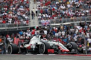 """Haas admits home race point took """"a little luck"""""""