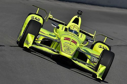 "Pagenaud's points lead slashed due to ""weird"" accident"