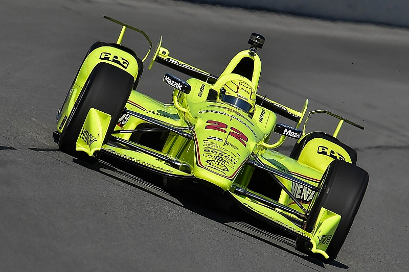 """Pagenaud's points lead slashed due to """"weird"""" accident"""