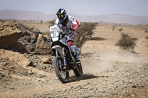 Cross-Country Rally Leg report Morocco Rally, Leg 3: Santosh hits trouble, TVS Sherco remains ahead