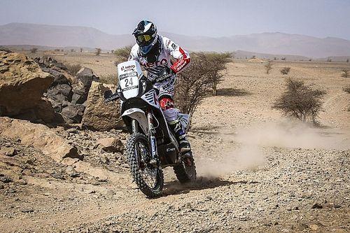Morocco Rally, Leg 3: Santosh hits trouble, TVS Sherco remains ahead