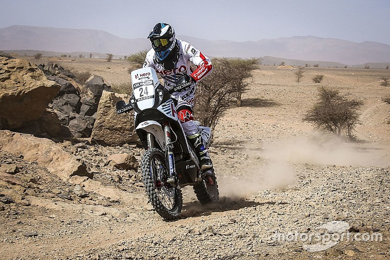 Morocco Rally, Leg 3: Santosh hits trouble, TVS Sherco remains ahead
