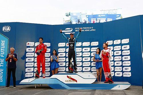 Formel E in Hongkong: Champion Sebastien Buemi besiegt das Chaos in China