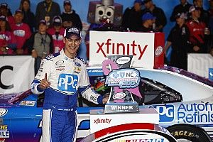Logano wins Xfinity race as four drivers are eliminated from the Chase