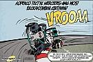 Гумор Cirebox - Лоренсо проміняв два колеса на чотири!