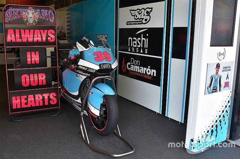 Nabestaanden Salom danken MotoGP-familie voor steun