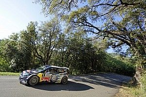 Corsica WRC: Ogier takes 15-second lead after two stages