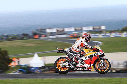 Australian MotoGP: Marquez takes pole, Rossi slumps to 15th