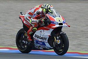 Assen MotoGP: Iannone leads Dovizioso in morning warm-up