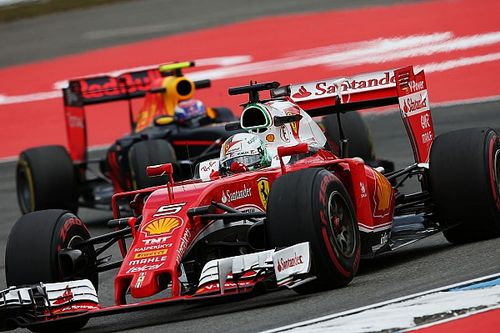 """Vettel: Ferrari """"not here to finish fifth and sixth"""""""