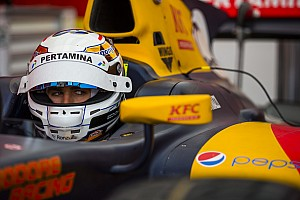 GP2 Breaking news Giovinazzi excluded from GP2 qualifying, loses fourth place