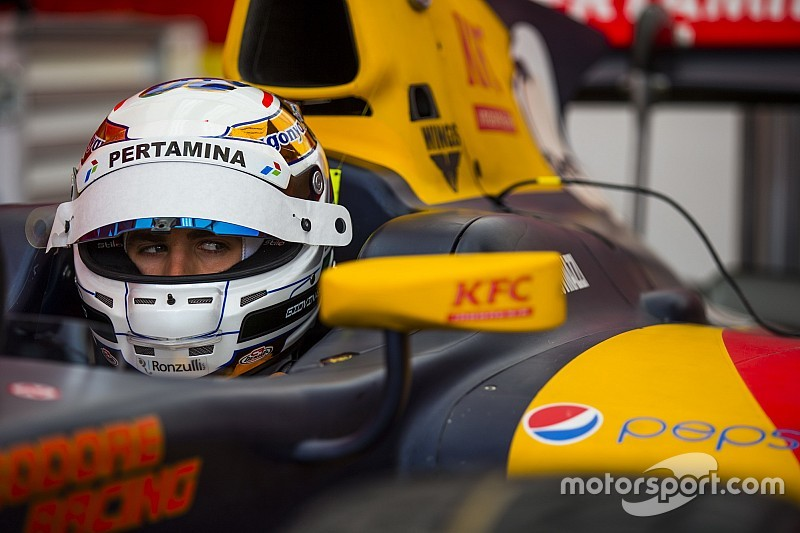 Giovinazzi excluded from GP2 qualifying, loses fourth place