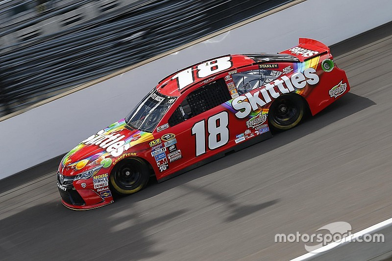 Kyle Busch leads final practice at Indianapolis