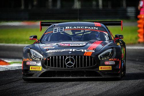Экипаж на Mercedes выиграл гонку BES в Сильверстоуне