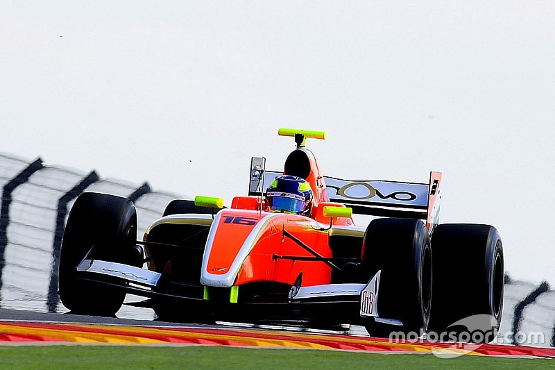 Aragon F3.5: Dillmann on pole despite losing best lap