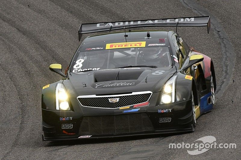 GT rookie Michael Cooper paces World Challenge action Friday at Barber Motorsports Park