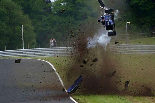 Vaidyanathan escapes horror crash at Oulton Park
