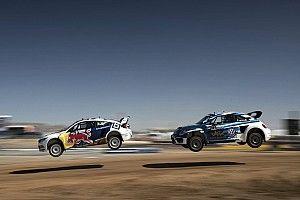 Tanner Foust wins Red Bull Global Rallycross Phoenix I