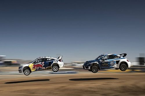Tanner Foust wins Red Bull Global Rallycross Phoenix I
