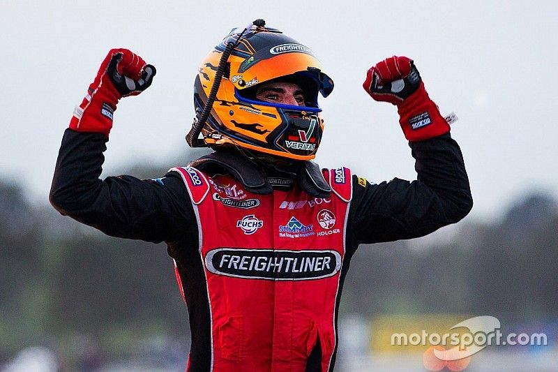 """Slade reflects on """"tough times"""" leading into maiden V8s win"""