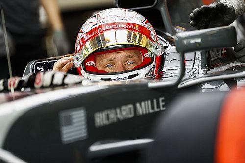 """ماغنوسن شعر """"بضغط سلبي"""" خلال بداية مسيرته في الفورمولا واحد"""