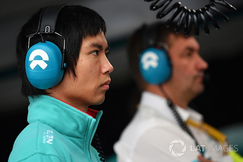 Ma replaces Filippi at NIO for Paris ePrix