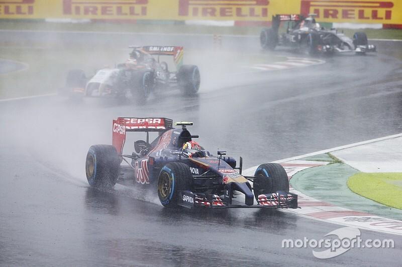 Угрожающий Гран При Японии тайфун достиг высшей категории