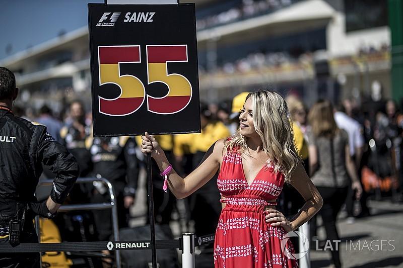 Les grid girls en F1, c'est fini!