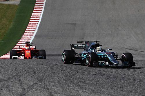 """""""Clever"""": Lewis Hamilton vermutet halblegalen Trick von Vettel in Austin"""