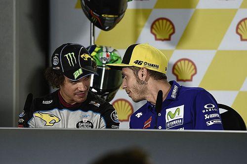 Morbidelli y Pasini le ganan a Rossi los '100 km de los Campeones'