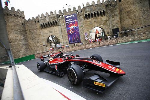F2 Baku: Russell wint na prachtige inhaalrace, De Vries derde