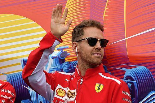 Ainda não faz sentido falar em título, diz Vettel