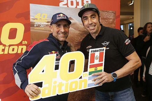 """Roma: """"Es una lástima que Peugeot se vaya del Dakar"""""""