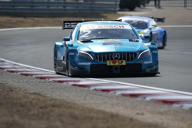 DTM Zandvoort 2018: Paffett führt Mercedes-Quartett an